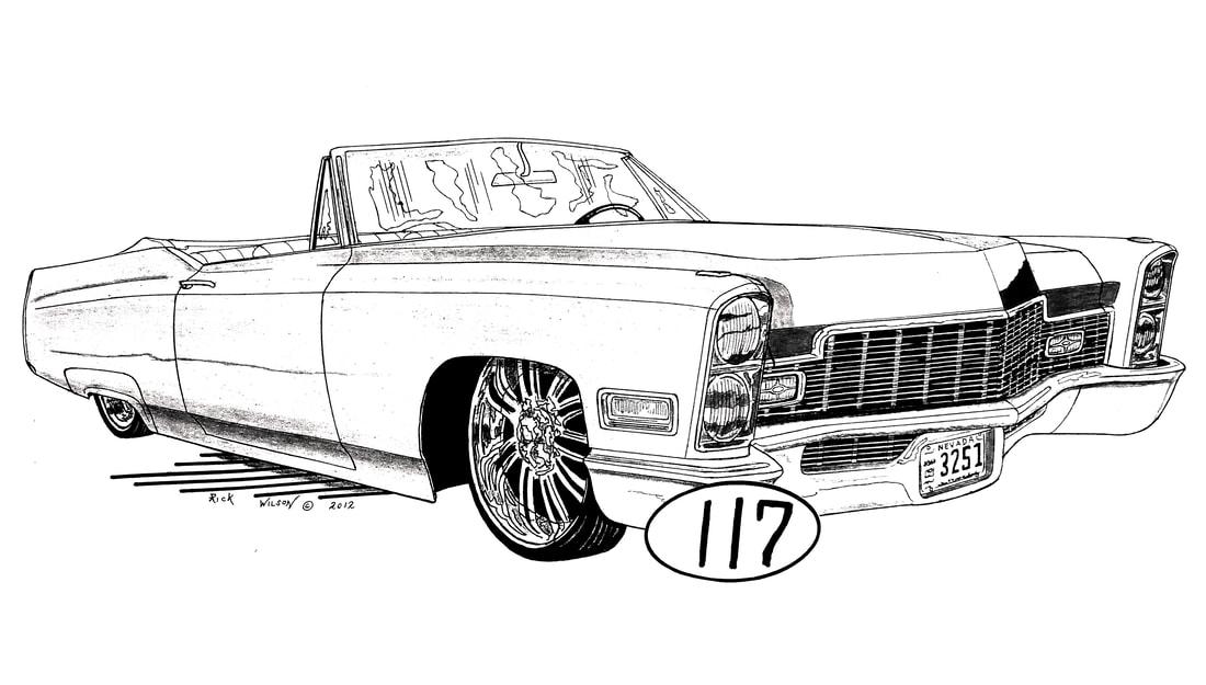 Page 2 Custom Car Hot Rod Drag Racing Art Prints By