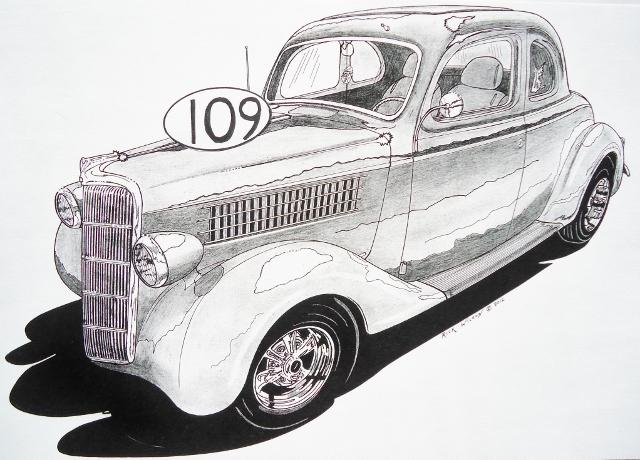 Jack Schmitt Cadillac >> Page 10 - CUSTOM CAR, HOT ROD, DRAG RACING ART PRINTS BY ...