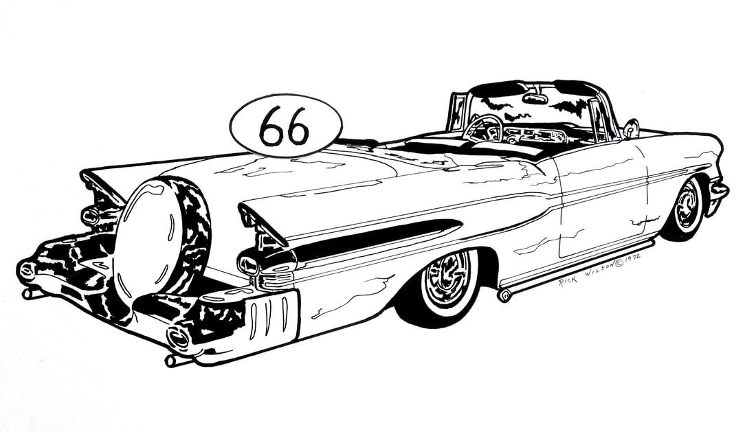 Page 6 - CUSTOM CAR, HOT ROD, DRAG RACING ART PRINTS BY RICK WILSON