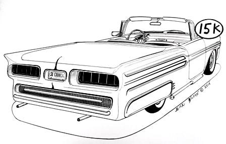 Falcon Drag Car